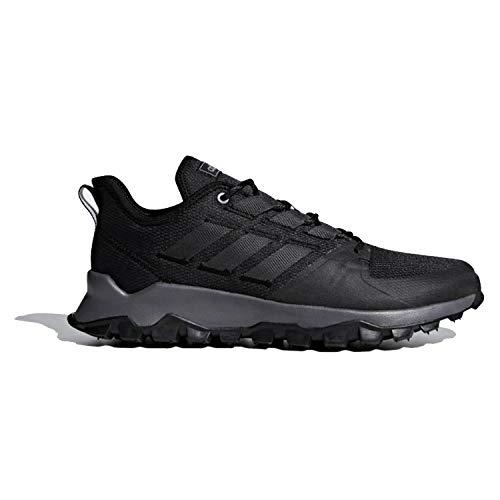 adidas Men's Kanadia Trail, Black/Grey/Grey, 12 M US