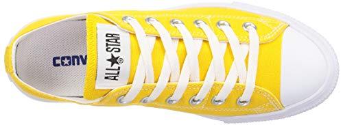 [コンバース]スニーカーオールスターライトスリップOXイエロー24.5cm