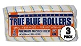 True Blue 14' Professional Paint Roller Covers, Best for All Types of Paint (3, 1/2' Nap)