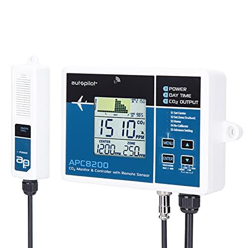Autopilot APC8200 CO2 w/15' Remote Sensor Monitor & Controller, Blue