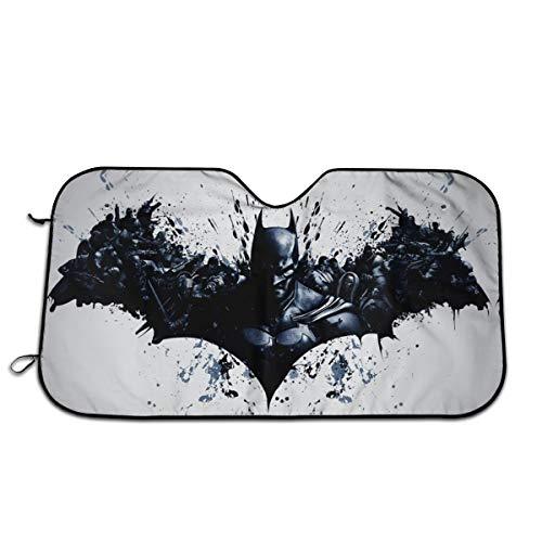 Bargburm Batman Sunshade for Windshields 51.2'' X 27.5'' Auto Windshield Sun Shade Universal Fit for Car Sedan SUV