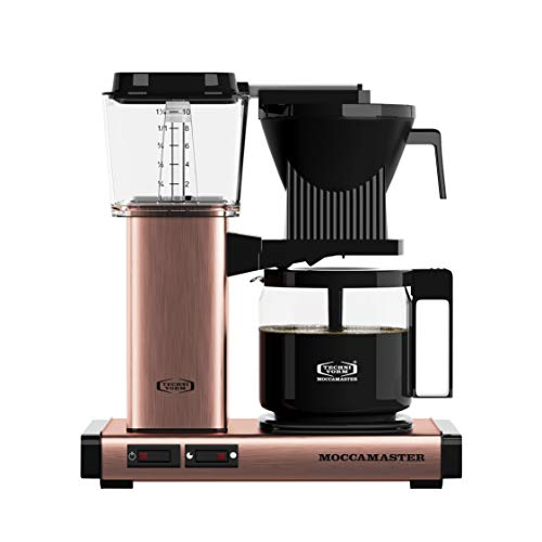 Moccamaster Filter Kaffeemaschine KBG 741 AO, 1.25 Liter, 1520 W, Copper