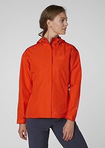 Helly Hansen Women's Seven J Waterproof Windproof Breathable Rain Coat Jacket, 147 Magenta, Small