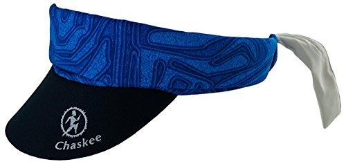 Chaskee Visor Snap Cap Maze mit Neoprenschild, blue