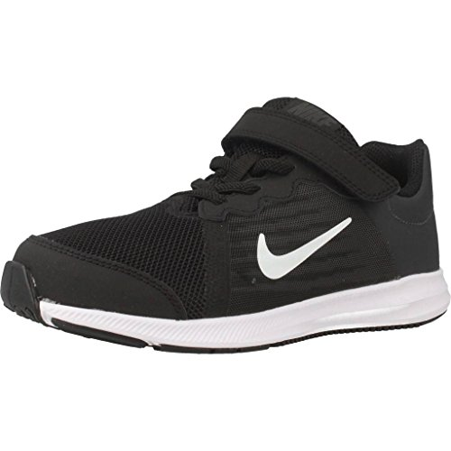 Nike Kleinkinder Sneaker Downshifter 8 (PSV) Laufschuhe, Schwarz (Black/White-Anthracite 001), 28.5 EU