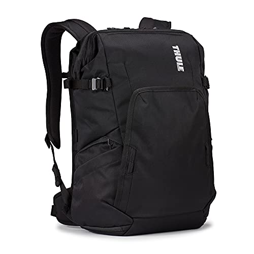 THULE Covert DSLR Backpack Mochila, Adultos Unisex, Black (Negro), 24l