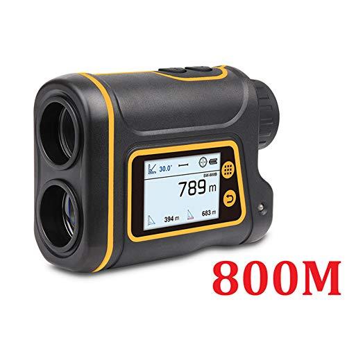 CARACHOME Golf-Entfernungsmesser, Teleskop-Laser-Entfernungsmesser 800/1000/1500M Jagd Monokular Golf-Entfernungsmesser LCD-Display USB-Aufladung,1500M