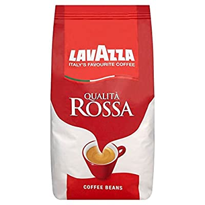 Lavazza Qualita Rossa Coffee Beans (1Kg) - Pack of 2