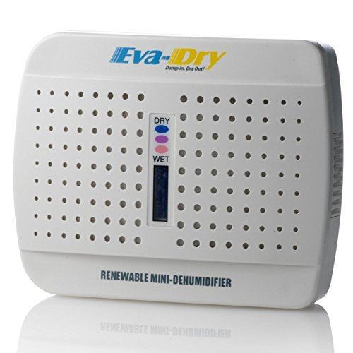 Eva-dry Renewable E-333 Wireless Mini Dehumidifer (Pack of 2) Size: Pack of 2 Model: