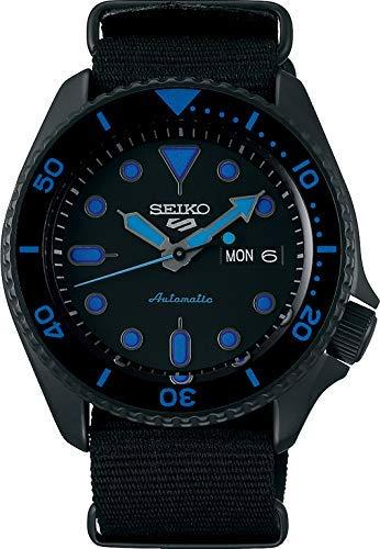 Seiko 5 Sports Street Orologio Analogico Automatico Uomo con Cinturino in...