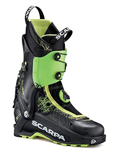 Scarpa Alien RS Grün-Schwarz, Herren Touren-Skischuh, Größe EU 44.5 - Farbe Carbon Black