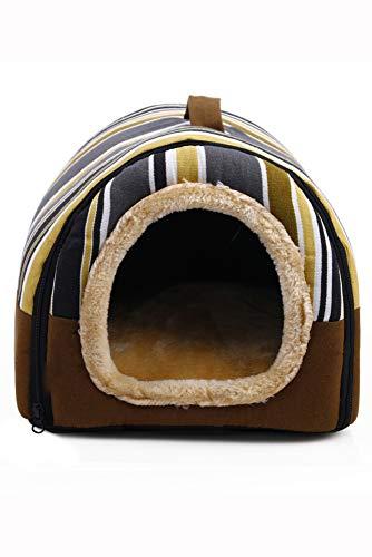 Lilui hondenbed 2-in-1 voor honden en slaapbank voor honden, antislip, met afneembaar kussen, wasbaar, voor honden, bed