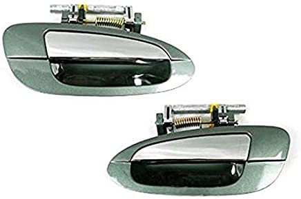 NoMoreBreaking For NISSAN ALTIMA Outside Door Handle 4pcs DY2 GREEN Chrome DS351