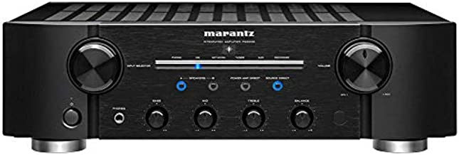 Marantz PM8006 Integrated Amplifier with New Electric Volume Control and Phono-EQ for Vinyl Playback   Connect Multiple Audio Sources   Flexible Configurations for More Power to Speakers