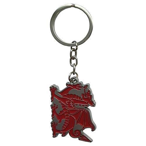 Smartbadge® Schlüsselanhänger Wales-Drache, Metall