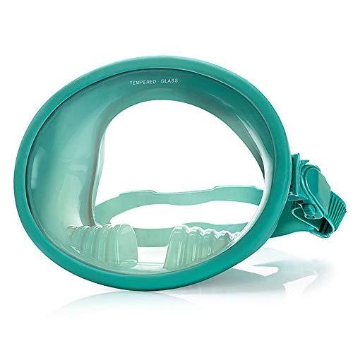 Roeam Máscara de Buceo con Vista Amplia de 180 ° Marco Grande Lente estanca y antivaho para una Mejor visión Caza submarina Esnórquel Pesca submarina Máscara de Buceo Completo
