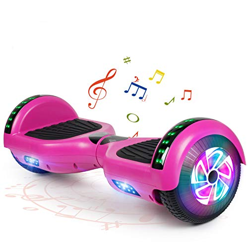 FLYING-ANT SWEETBUY Hoverboard for Kids Two-Wheel Self Balancing Hoverboard Electric Scooter UL 2272 Certified 6.5 inch Self Balancing Scooter with Carry Bag