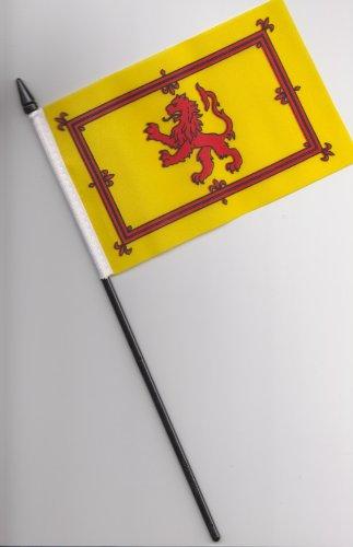 Diseño con bandera de Escocia a mano Rampant de león de la bandera de 25 cm