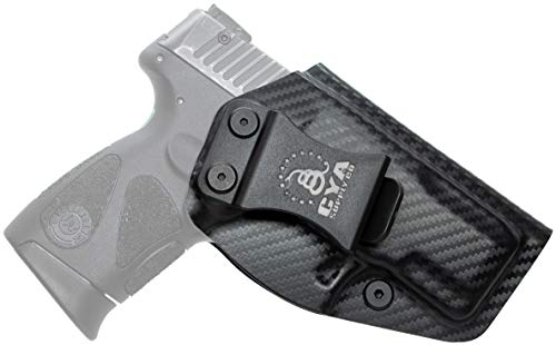 CYA Supply Co. Base Inside Waistband Holster Fits Taurus G2C & PT111/PT140 Millennium G2 Concealed Carry IWB Veteran Owned Company Fits (Carbon Fiber)