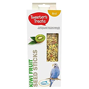 Tweeters Treats de Bâtons de Graines de Friandises pour Perruches, Kiwi