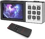 Ezcap273 273A HD 1080P 60fps AV/HDMI Tarjeta de Captura de Video y Audio Grabadora de Juegos Caja de grabación a Tarjeta TF Puede Reproducir Entrada de micrófono (Ezcap273)