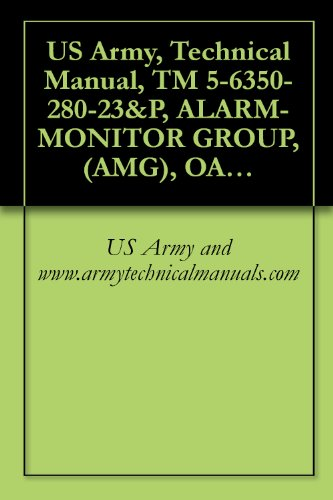 US Army, Technical Manual, TM 5-6350-280-23&P, ALARM-MONITOR GROUP, (AMG), OA-9431/FSS-9(V) CAGEC 97403 (English Edition)