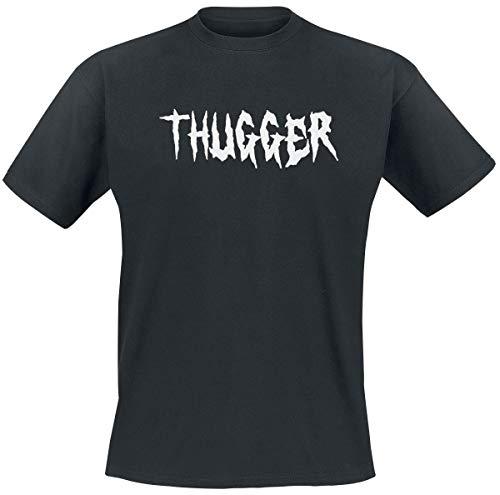 Young Thug Thugger Childrose Männer T-Shirt schwarz L 100% Baumwolle Band-Merch, Bands