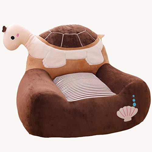 WENSISTAR Mini Kids Sofa, 12 dieren-design, leuke en interessante inspiratie, gezonde niet-giftige PP katoen, onzichtbare ritssluiting, voor kinderen en volwassenen B