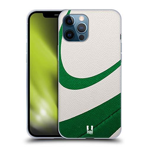 Head Case Designs Rugby Ball Kollektion Soft Gel Handyhülle Hülle Huelle kompatibel mit Apple iPhone 12 Pro Max