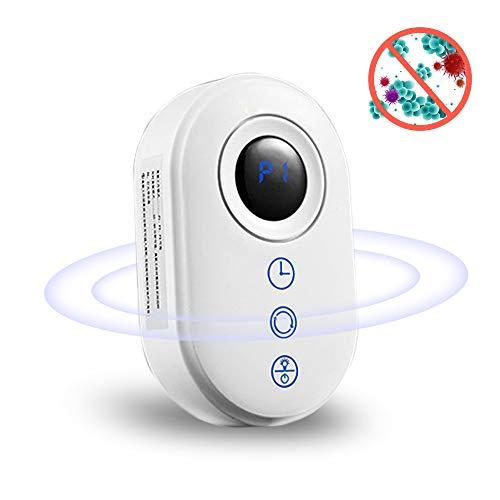 Thanblue - Generador de ozono para el dormitorio, salón, aseo, oficina, color blanco