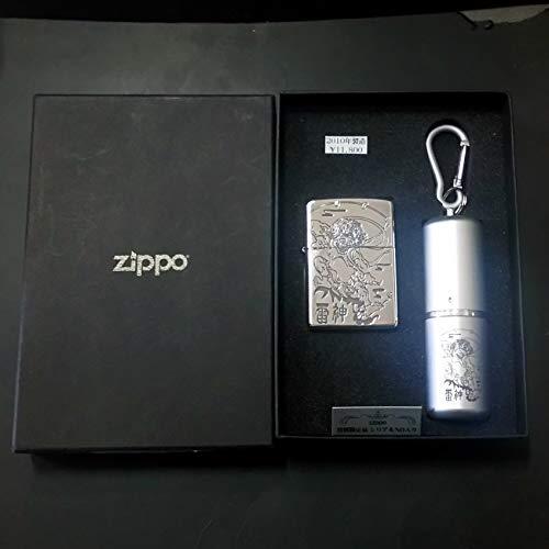 zippo 雷神 特別限定品 No.0551 携帯灰皿付き 2010年製造