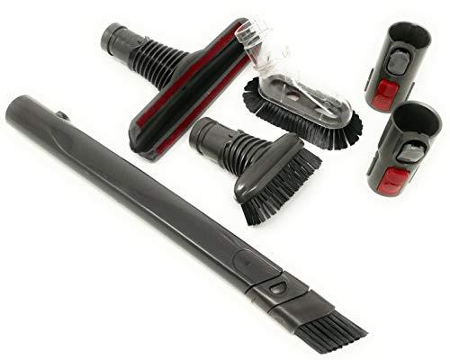 Kniwelshop compatible con Kit de accesorios de limpieza para coche y hogar aspiradoras Dyson (Car Kit)