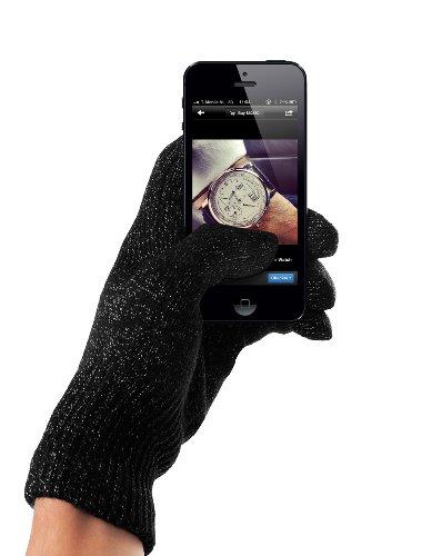 Mujo touchscreen handschoenen voor iPhone, smartphones - donkergrijs, Medium/Small, grijs