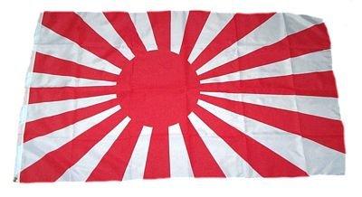 Fahne / Flagge Japan alt Kriegsflagge 90 x 150 cm