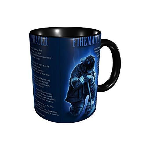 Taza de cerámica de la taza de café de las tazas del rezo de Firemans