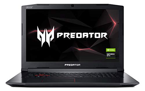 Acer Predator Helios 300 PH317-52-77A4 Gaming Laptop, Intel Core i7-8750H,...
