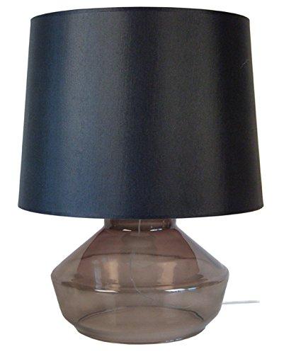 Tosel 63950 Espoo, Verre Soufflé/Coton, Fumé/Noir, 400 x 520 mm