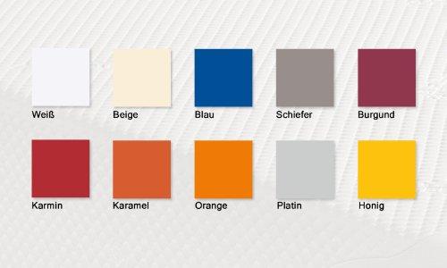 TEMPUR® Fullelsthan-Matratzenspannbettlaken Orange 120x190-130x220