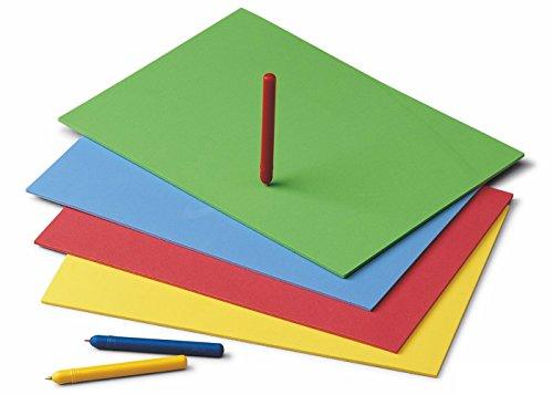 Fajeda - Pack 20 hojas goma eva 4 mm, 20 x 30 cm (654) , color/modelo surtido