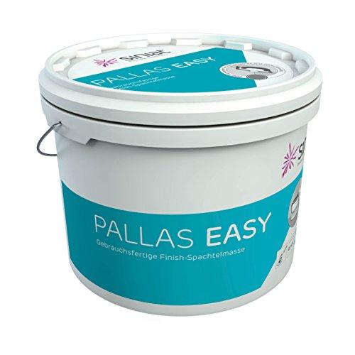 Siniat Pallas Easy Finish Fertigspachtelmasse | nach DIN EN 13963 Typ 2A | sofort einsetzbar | 20 kg Eimer
