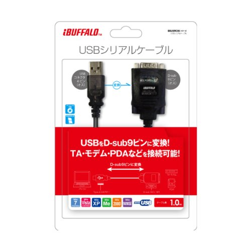 41XO9BT tyL - Buffalo USB/Serial Cable(BSUSRC06) Driverインストール