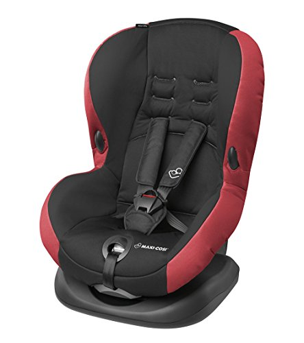 Maxi-Cosi Priori SPS Plus Kindersitz mit Becherhalter - optimalen Seitenaufprallschutz und 4 Sitz- und Ruhepositionen, Gruppe 1 (9-18 kg), nutzbar ab 9 Monate bis 4 Jahre, pepper black