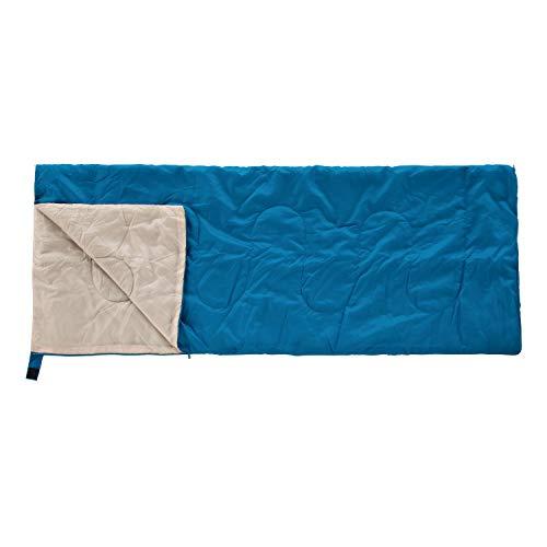 BUNDOK(バンドック) 封筒型 シュラフ ブルー BDK-30B 寝袋 収納ケース付