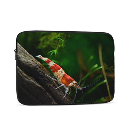 MacBook Pro 2018 Accessories Crystal Red Shrimp Standing On Aquatic Moss MacBook Pro 13 Cases Multi-Color & Size Choices10/12/13/15/17 Inch Computer Tablet Briefcase Carrying Bag