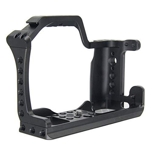 Pumprout Jaula de cámara de aleación de Aluminio CNC para EOS M50 DSLR Case Cold Shoe Mount Expansión Tapa Quick-rease Plate Soporte Fotografía