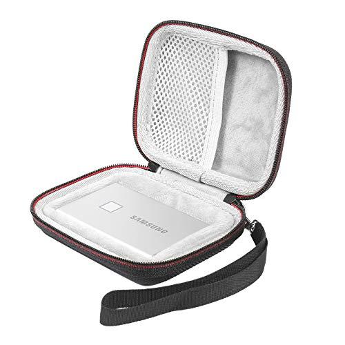 WERICO Hart Hülle Tasche für Samsung T7 Touch / T7 Portable SSD 500GB 1TB 2TB case Etui Schutzhülle