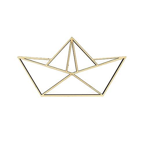 Artemio Silhouette Origami barco, madera, 11x 20cm