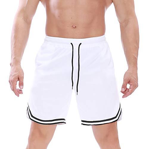 Halfword Hombres Casual Correr Deportes Cortos Niños Al Aire Libre Gimnasio De Secado Rápido Pantalones De Malla M-4XL