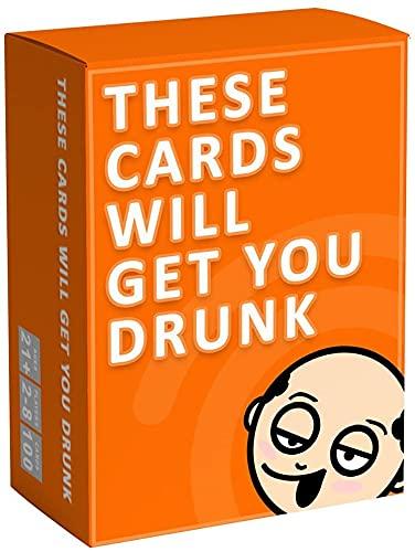 Estas tarjetas te harán borracho divertido juego de beber para adultos para fiestas