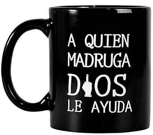 Taza Desayuno Divertida - Tazas Originales para Regalar con Frase Ironica - Taza de Cafe Graciosa - Taza de Te - Tazas Personalizadas - Taza Original - Tazas para Parejas.